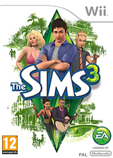 The Sims 3 Wii cover (S3MP69)