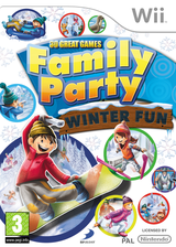 Family Party: 30 Great Games Winter Fun Wii cover (S3WPG9)