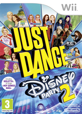 Just Dance Disney Party 2 Wii cover (S5DP41)