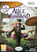 Alice in Wonderland Wii cover (SALP4Q)