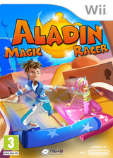 Aladin: Magic Racer Wii cover (SARPNK)