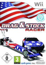 Drag & Stock Racer Wii cover (SDRPNG)