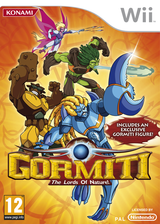 Gormiti: The Lords of Nature! Wii cover (SGLPA4)