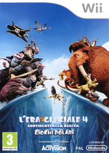 Ice Age: Continental Drift: Arctic Games Wii cover (SIAI52)
