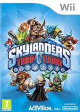 Skylanders: Trap Team Wii cover (SK8P52)