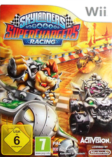 Skylanders: SuperChargers Racing Wii cover (SKNP52)