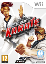 All Star Karate Wii cover (SKTP78)