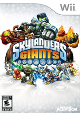 Skylanders: Giants Wii cover (SKYY52)