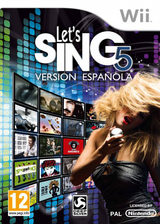 Let's Sing 5 - Spanish Version Wii cover (SLFXKM)