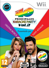 40 Principales Karaoke Party Vol. 2 Wii cover (SLMPWL)