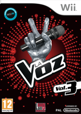 The Voice Vol. 3 Wii cover (SLNP7M)