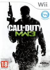 Call of Duty: Modern Warfare 3 Wii cover (SM8S52)
