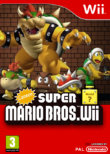 Cannon Super Mario Bros. Wii CUSTOM cover (SMNP04)