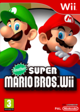Another Super Mario Bros. Wii CUSTOM cover (SMNP05)