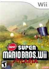New Super Mario Bros. Wii Arcadia CUSTOM cover (SMNP77)