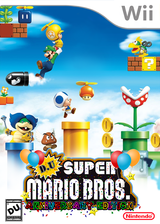 DU Super Mario Bros. : Anniversary Edition CUSTOM cover (SMNPDU)