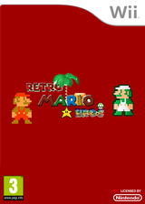 Retro Mario Bros. CUSTOM cover (SMNPRE)