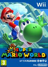 Newer Super Mario World U CUSTOM cover (SMWP01)