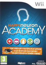 Happy Neuron Academy Wii cover (SNUPJW)