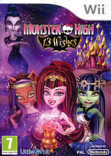 Monster High: 13 Wishes Wii cover (SNYPVZ)
