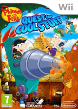 Phineas and Ferb: Quest for Cool Stuff Wii cover (SQFPGT)