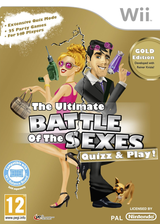The Ultimate Battle of the Sexes: Quizz & Play! Wii cover (SQTPML)