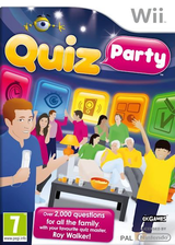 Quiz Party Wii cover (SQUDX3)