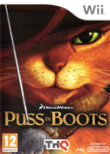 Puss in Boots Wii cover (SSBP78)