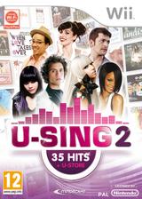 U-Sing 2 Wii cover (SU3FMR)