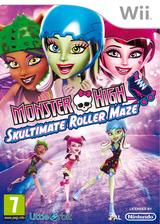 Monster High: Skultimate Roller Maze Wii cover (SU5PVZ)