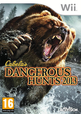 Cabela's Dangerous Hunts 2013 Wii cover (SUVP52)