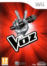 The Voice Wii cover (SV6SRV)