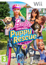 Barbie and Her Sisters: Puppy Rescue Wii cover (SVQPVZ)