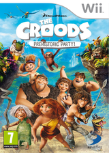 The Croods: Prehistoric Party! Wii cover (SVVPAF)