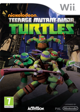 Teenage Mutant Ninja Turtles Wii cover (SX7P52)