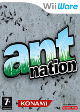 Ant Nation WiiWare cover (WANP)