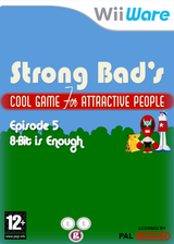Strong Bad Episode 5: 8-bit is Enough WiiWare cover (WB3P)
