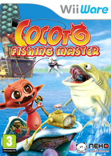 Cocoto Fishing Master WiiWare cover (WCOP)