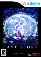 Cave Story WiiWare cover (WCVP)