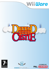 Defend your Castle WiiWare cover (WDFP)