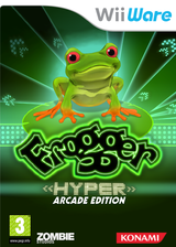 Frogger: Hyper Arcade Edition WiiWare cover (WFQP)