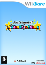 Aha! I Found It! Hidden Object Game WiiWare cover (WITP)