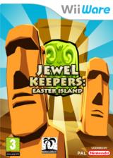 Jewel Keepers: Easter Island WiiWare cover (WJKP)