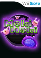 Moki Moki WiiWare cover (WMOP)