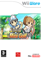 Family Mini Golf WiiWare cover (WOGP)