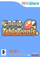 Family Table Tennis WiiWare cover (WPPP)