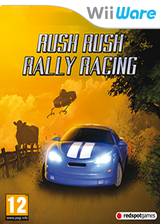 Rush Rush Rally Racing WiiWare cover (WR4P)