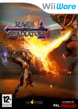 Rage of the Gladiator WiiWare cover (WRGP)