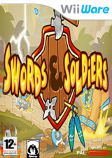 Swords & Soldiers WiiWare cover (WSWP)