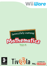 Successfully Learning Mathematics Year 4 WiiWare cover (WU3P)